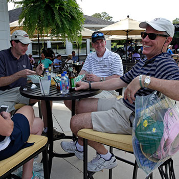Enjoy a Drink at the Golf Bar after a long day on the course